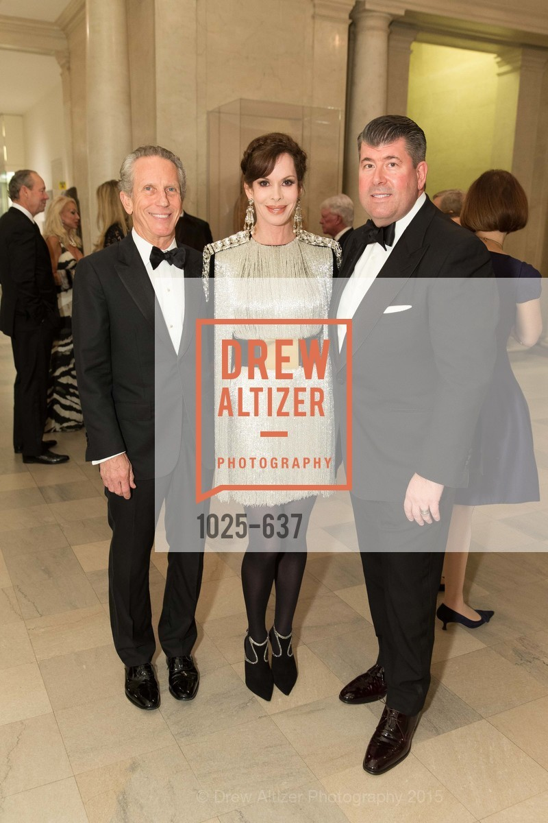 Jim Marver, Stephanie Marver, Alan Morrell, AN ELEGANT EVENING Presented by the Fine Arts Museums of San Francisco, Legion of Honor, Court of Honor. 100 34th Ave, December 8th, 2015,Drew Altizer, Drew Altizer Photography, full-service agency, private events, San Francisco photographer, photographer california