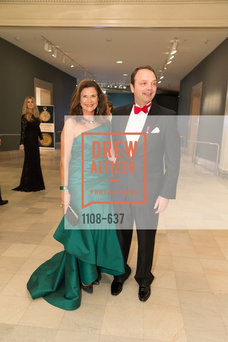 Linda Zider, Guillaume Orliac, AN ELEGANT EVENING Presented by the Fine Arts Museums of San Francisco, Legion of Honor, Court of Honor. 100 34th Ave, December 8th, 2015,Drew Altizer, Drew Altizer Photography, full-service event agency, private events, San Francisco photographer, photographer California