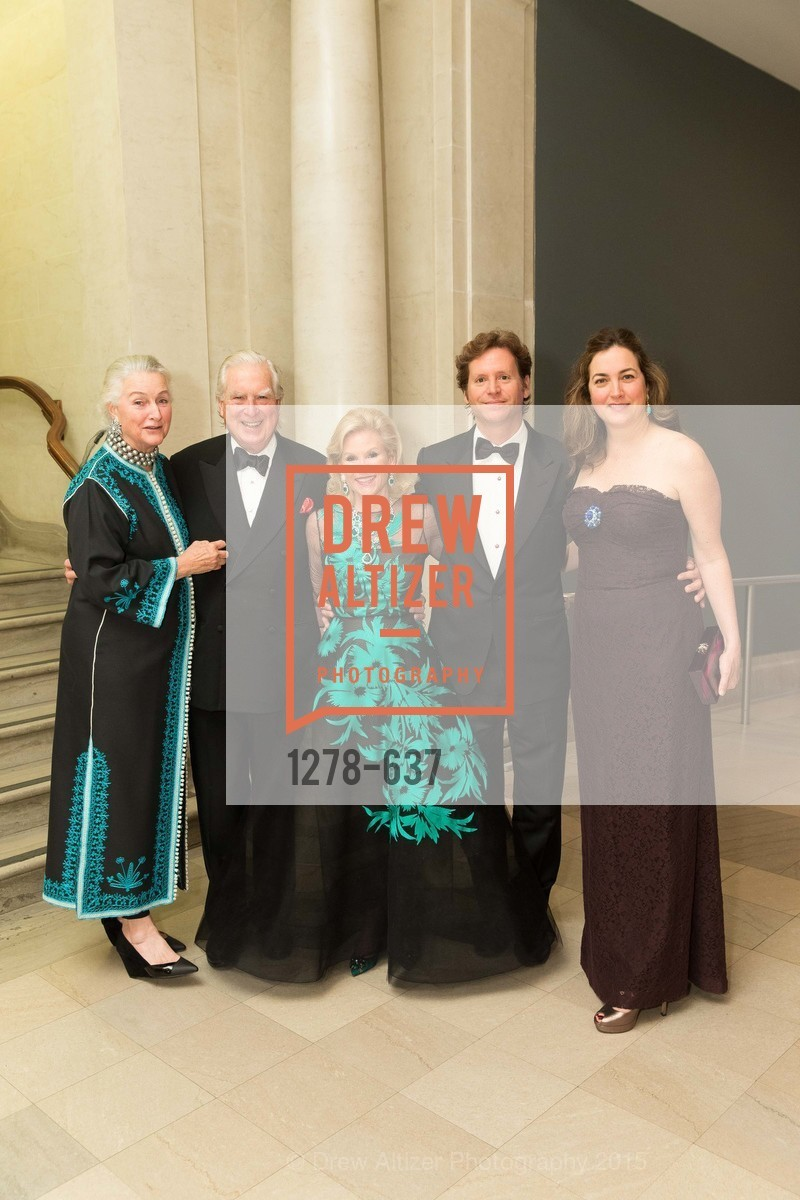 Elizabeth Swanson, Clarke Swanson, Dede Wilsey, Trevor Traina, Alexis Traina, AN ELEGANT EVENING Presented by the Fine Arts Museums of San Francisco, Legion of Honor, Court of Honor. 100 34th Ave, December 8th, 2015,Drew Altizer, Drew Altizer Photography, full-service agency, private events, San Francisco photographer, photographer california