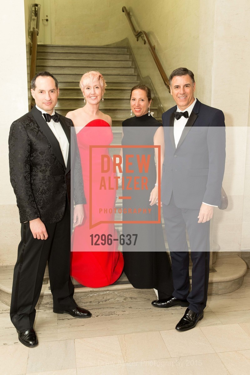 Markos Kounalakis, Eleni Kounalakis, Lisa Sardegna, David Cabrillo, AN ELEGANT EVENING Presented by the Fine Arts Museums of San Francisco, Legion of Honor, Court of Honor. 100 34th Ave, December 8th, 2015,Drew Altizer, Drew Altizer Photography, full-service agency, private events, San Francisco photographer, photographer california