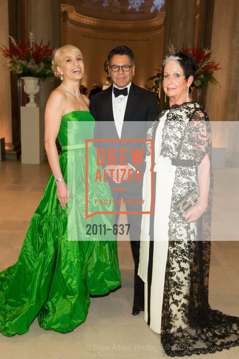 Navid Armstrong, Gary Garebedian, Karen Kubin, AN ELEGANT EVENING Presented by the Fine Arts Museums of San Francisco, Legion of Honor, Court of Honor. 100 34th Ave, December 8th, 2015,Drew Altizer, Drew Altizer Photography, full-service agency, private events, San Francisco photographer, photographer california