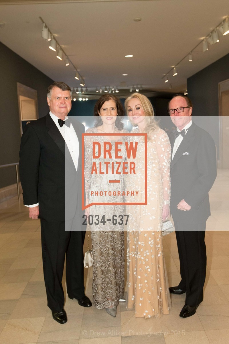 Kent Brooks, Rada Brooks, Giselle Parry, Ray Farris, AN ELEGANT EVENING Presented by the Fine Arts Museums of San Francisco, Legion of Honor, Court of Honor. 100 34th Ave, December 8th, 2015,Drew Altizer, Drew Altizer Photography, full-service agency, private events, San Francisco photographer, photographer california