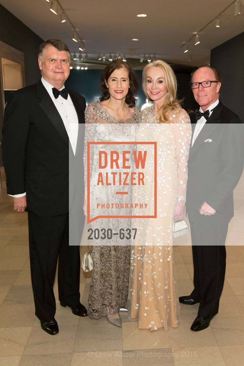 Kent Brooks, Rada Brooks, Giselle Anna Parry, Ray Farris, AN ELEGANT EVENING Presented by the Fine Arts Museums of San Francisco, Legion of Honor, Court of Honor. 100 34th Ave, December 8th, 2015,Drew Altizer, Drew Altizer Photography, full-service agency, private events, San Francisco photographer, photographer california