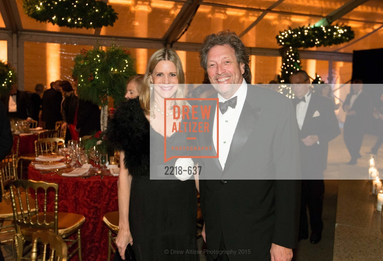 Mary Beth Shimmon, Doug Biederbeck, AN ELEGANT EVENING Presented by the Fine Arts Museums of San Francisco, Legion of Honor, Court of Honor. 100 34th Ave, December 8th, 2015,Drew Altizer, Drew Altizer Photography, full-service agency, private events, San Francisco photographer, photographer california