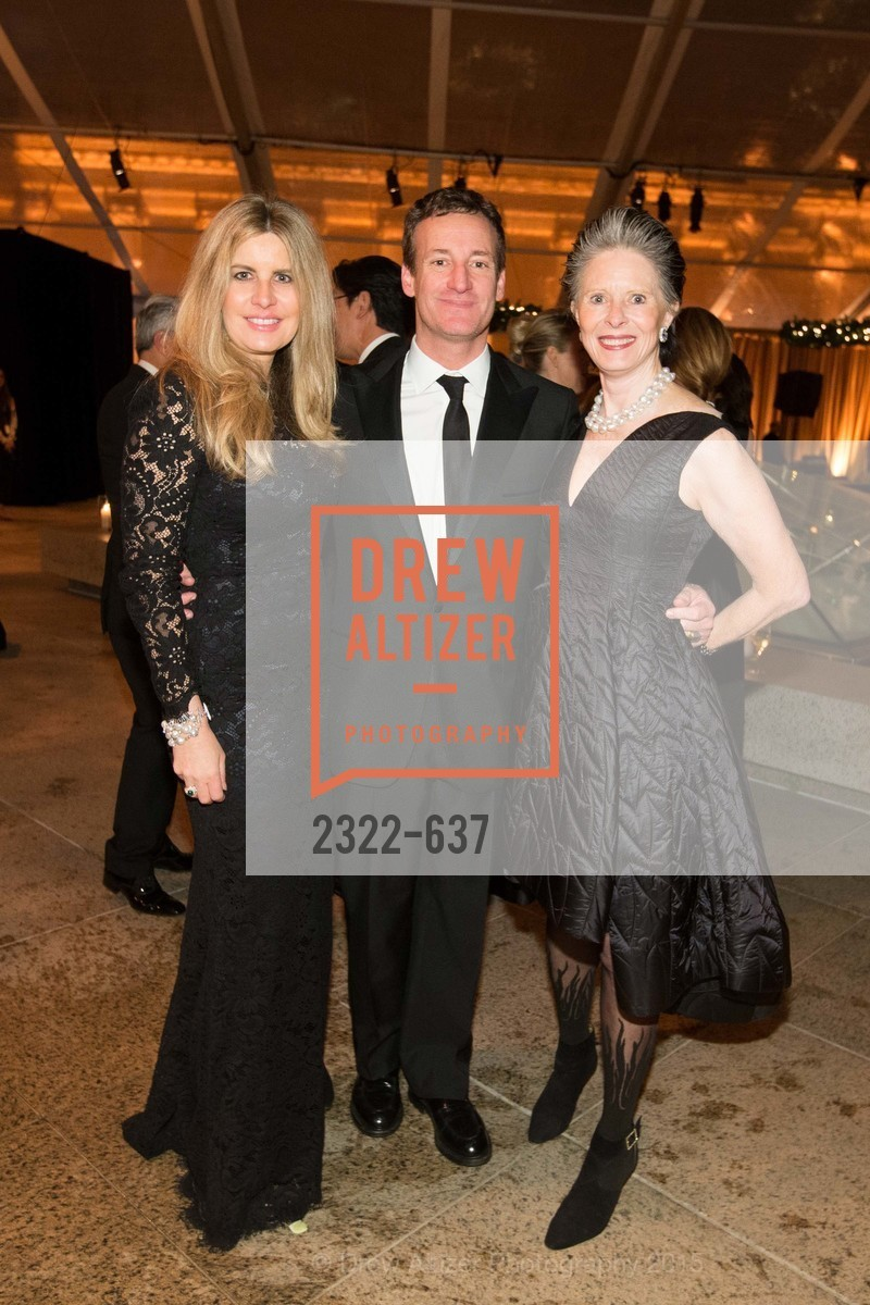 Suzanne Levit, Todd Traina, Meriwether McGettigan, AN ELEGANT EVENING Presented by the Fine Arts Museums of San Francisco, Legion of Honor, Court of Honor. 100 34th Ave, December 8th, 2015,Drew Altizer, Drew Altizer Photography, full-service event agency, private events, San Francisco photographer, photographer California