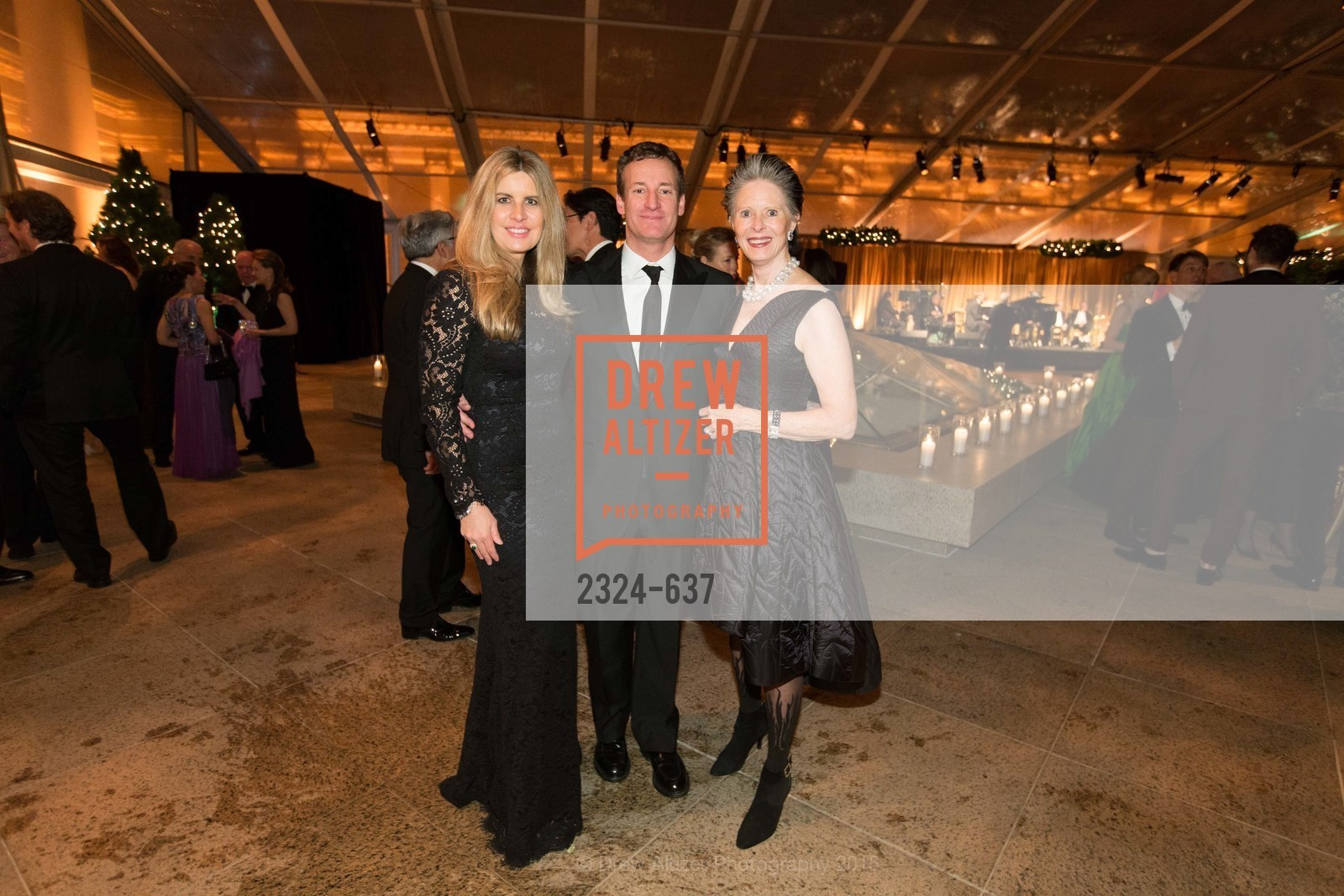 Suzanne Levit, Todd Traina, Meriwether McGettigan, AN ELEGANT EVENING Presented by the Fine Arts Museums of San Francisco, Legion of Honor, Court of Honor. 100 34th Ave, December 8th, 2015,Drew Altizer, Drew Altizer Photography, full-service agency, private events, San Francisco photographer, photographer california