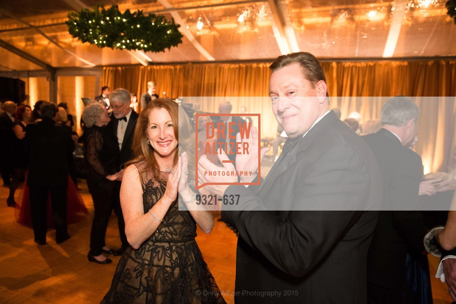 Kathy Norland, Howard Norland, AN ELEGANT EVENING Presented by the Fine Arts Museums of San Francisco, Legion of Honor, Court of Honor. 100 34th Ave, December 8th, 2015,Drew Altizer, Drew Altizer Photography, full-service agency, private events, San Francisco photographer, photographer california