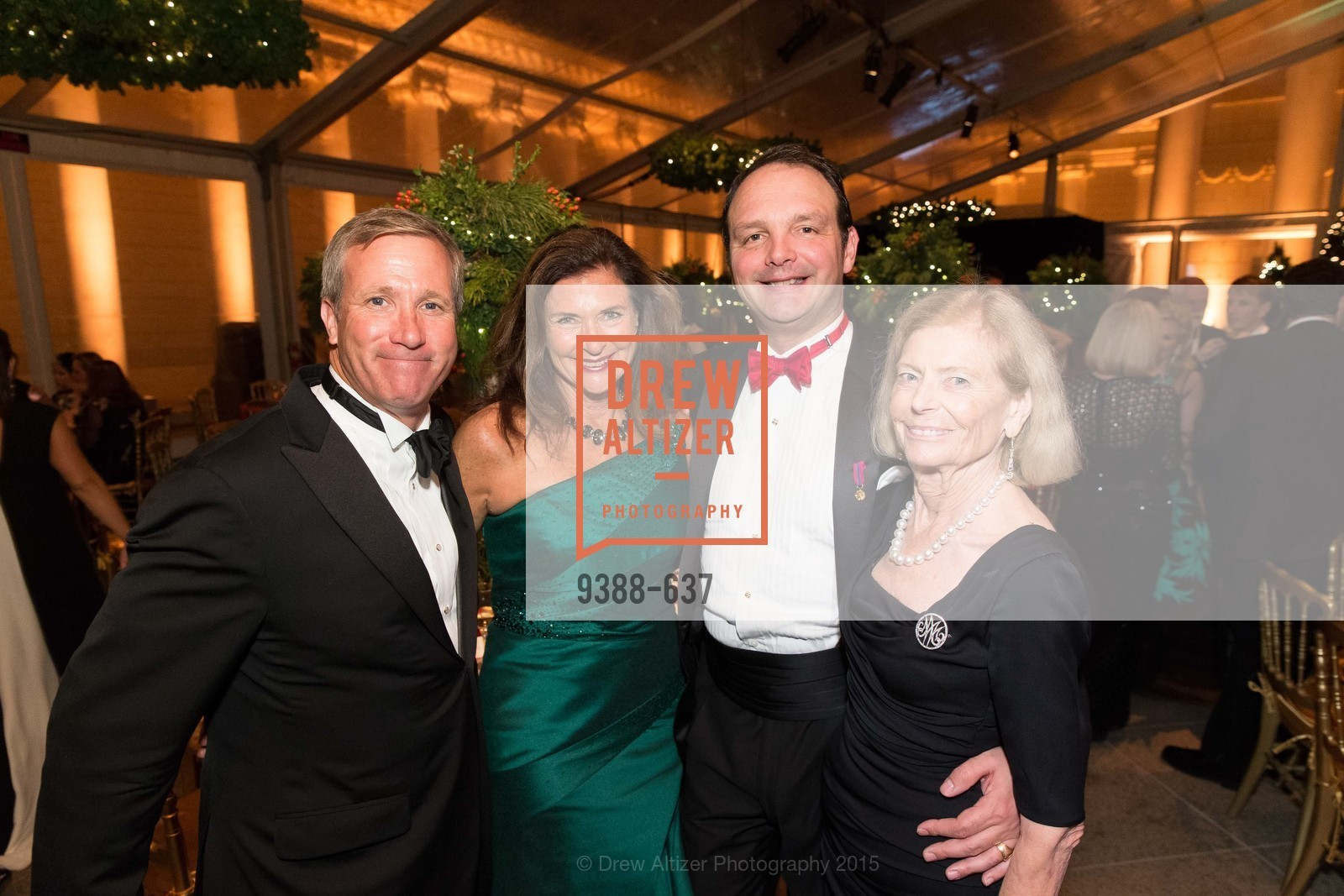 Sean Julian, Linda Zider, Guillaume Orliac, Maron Cope, AN ELEGANT EVENING Presented by the Fine Arts Museums of San Francisco, Legion of Honor, Court of Honor. 100 34th Ave, December 8th, 2015,Drew Altizer, Drew Altizer Photography, full-service agency, private events, San Francisco photographer, photographer california