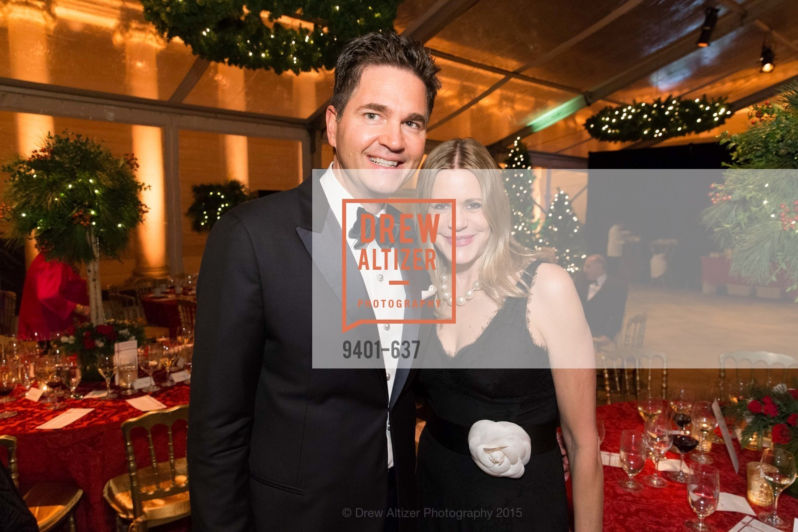 Alex Chases, Mary Beth Shimmon, AN ELEGANT EVENING Presented by the Fine Arts Museums of San Francisco, Legion of Honor, Court of Honor. 100 34th Ave, December 8th, 2015,Drew Altizer, Drew Altizer Photography, full-service agency, private events, San Francisco photographer, photographer california