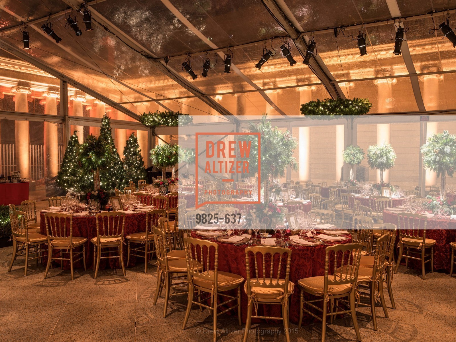 Atmosphere, AN ELEGANT EVENING Presented by the Fine Arts Museums of San Francisco, Legion of Honor, Court of Honor. 100 34th Ave, December 8th, 2015