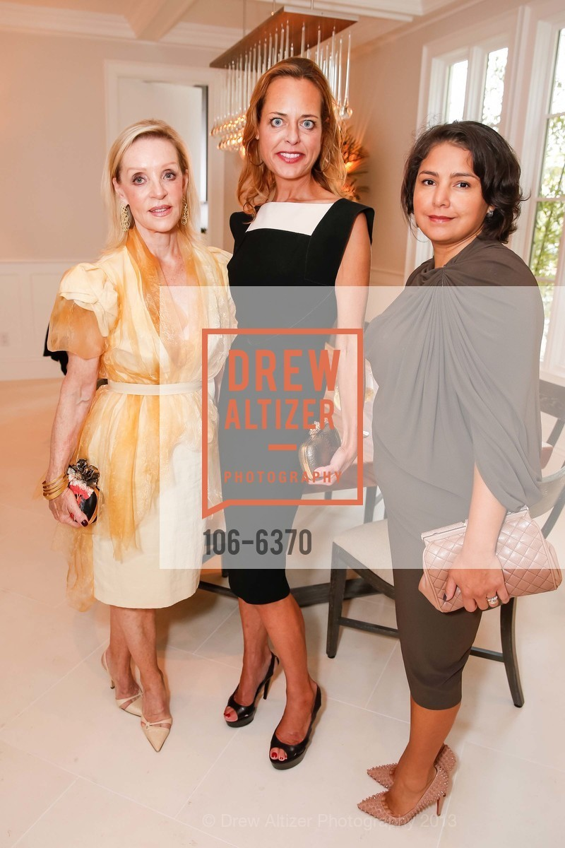 Barbara Brown, Charlot Malin, Cayna Arangurem, OPERA GALA Patrons Party, US, August 28th, 2013