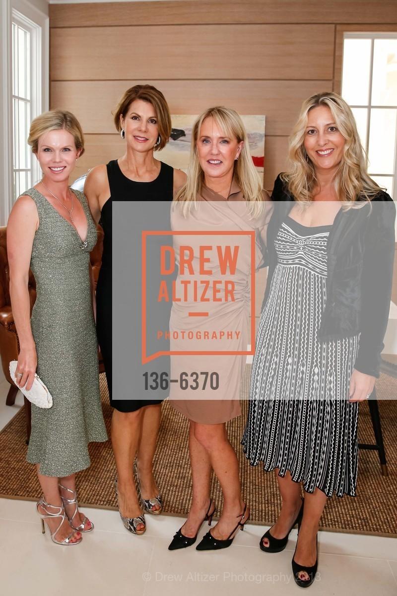 Claire Fluhr, Katie Jarman, Carolyn Stuart, Virginia Ziegler, OPERA GALA Patrons Party, US, August 28th, 2013