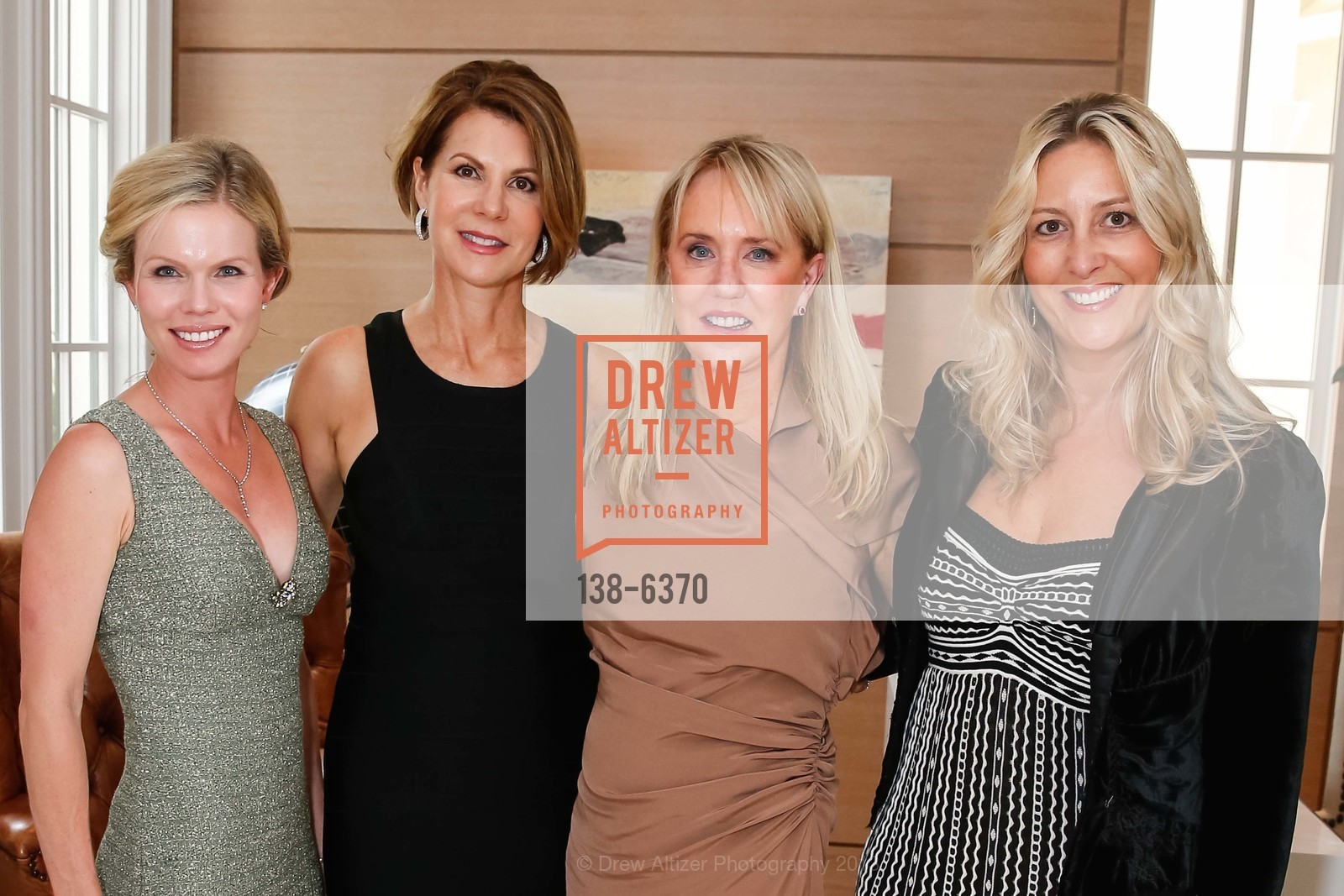 Claire Fluhr, Katie Jarman, Carolyn Stuart, Virginia Ziegler, OPERA GALA Patrons Party, US, August 28th, 2013