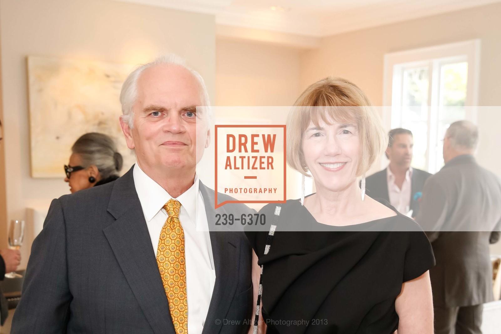 Bill Broach, Nancy Cunningham Clark, OPERA GALA Patrons Party, US, August 28th, 2013