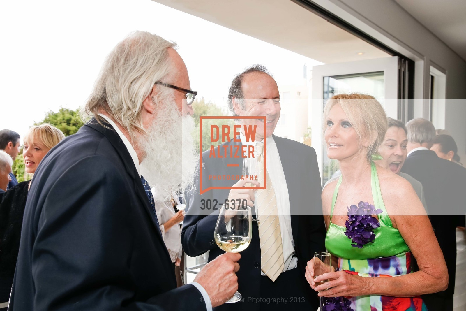 Norman Larson, Tom Barrett, Belinda Berry, OPERA GALA Patrons Party, US, August 28th, 2013