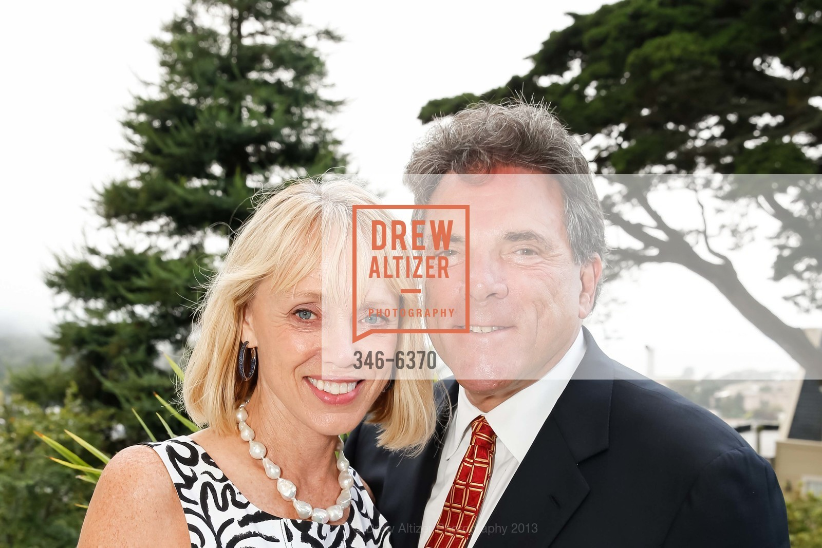 Diane Rubin, Leonard Eber, OPERA GALA Patrons Party, US, August 28th, 2013