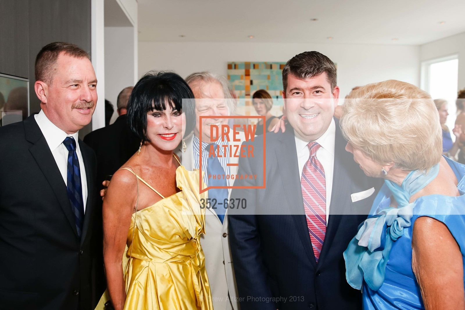 Mike Genoshe, Marilyn Cabak, Michael Cabak, Alan Morrell, Maria Pitcairn, OPERA GALA Patrons Party, US, August 28th, 2013,Drew Altizer, Drew Altizer Photography, full-service agency, private events, San Francisco photographer, photographer california
