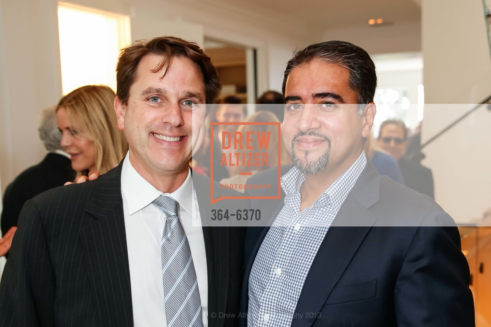 Gregory Malin, Nadir Shaikh, OPERA GALA Patrons Party, US, August 28th, 2013