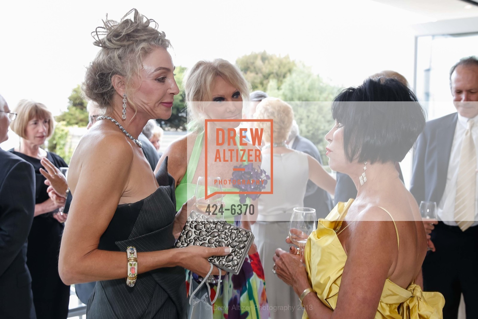 Alisa Burgess-Blajwas, Belinda Berry, Marilyn Cabak, OPERA GALA Patrons Party, US, August 28th, 2013