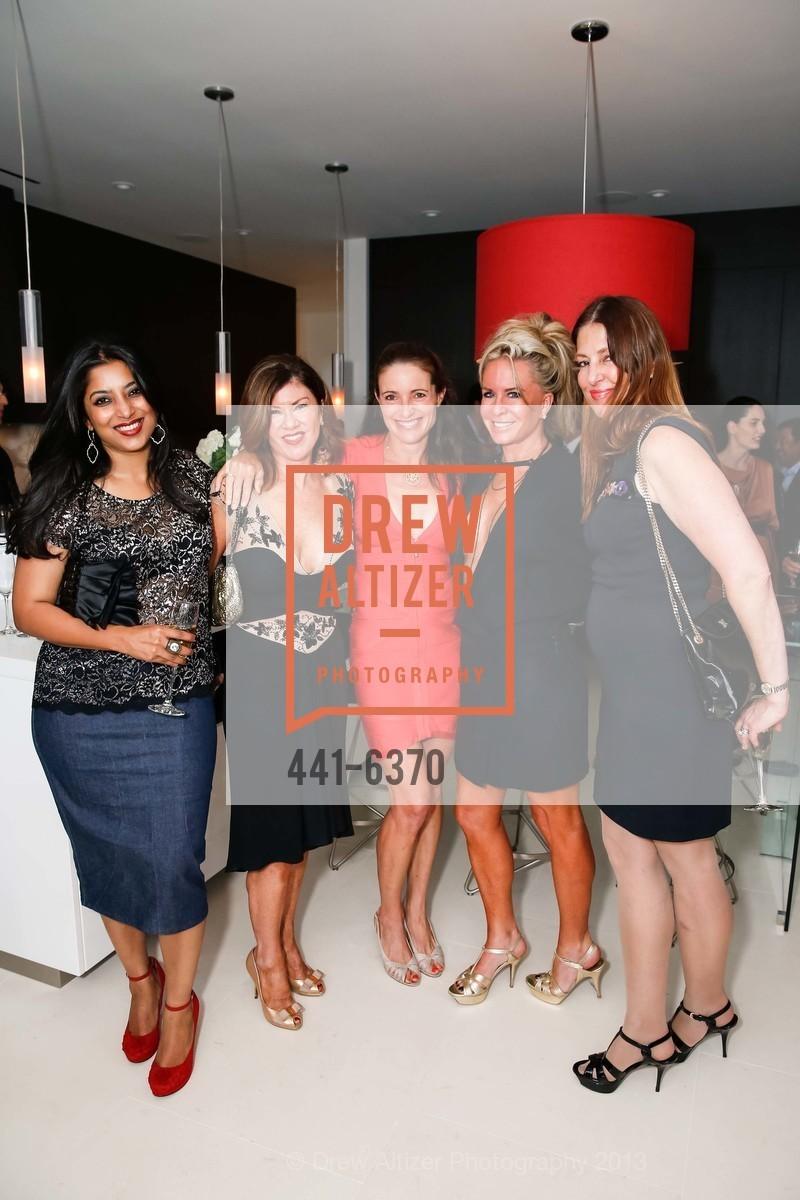 Ayesha Mathews, Dianne Yancey, Ann Laury, Tracy Katz, Barbara Sharis, OPERA GALA Patrons Party, US, August 28th, 2013