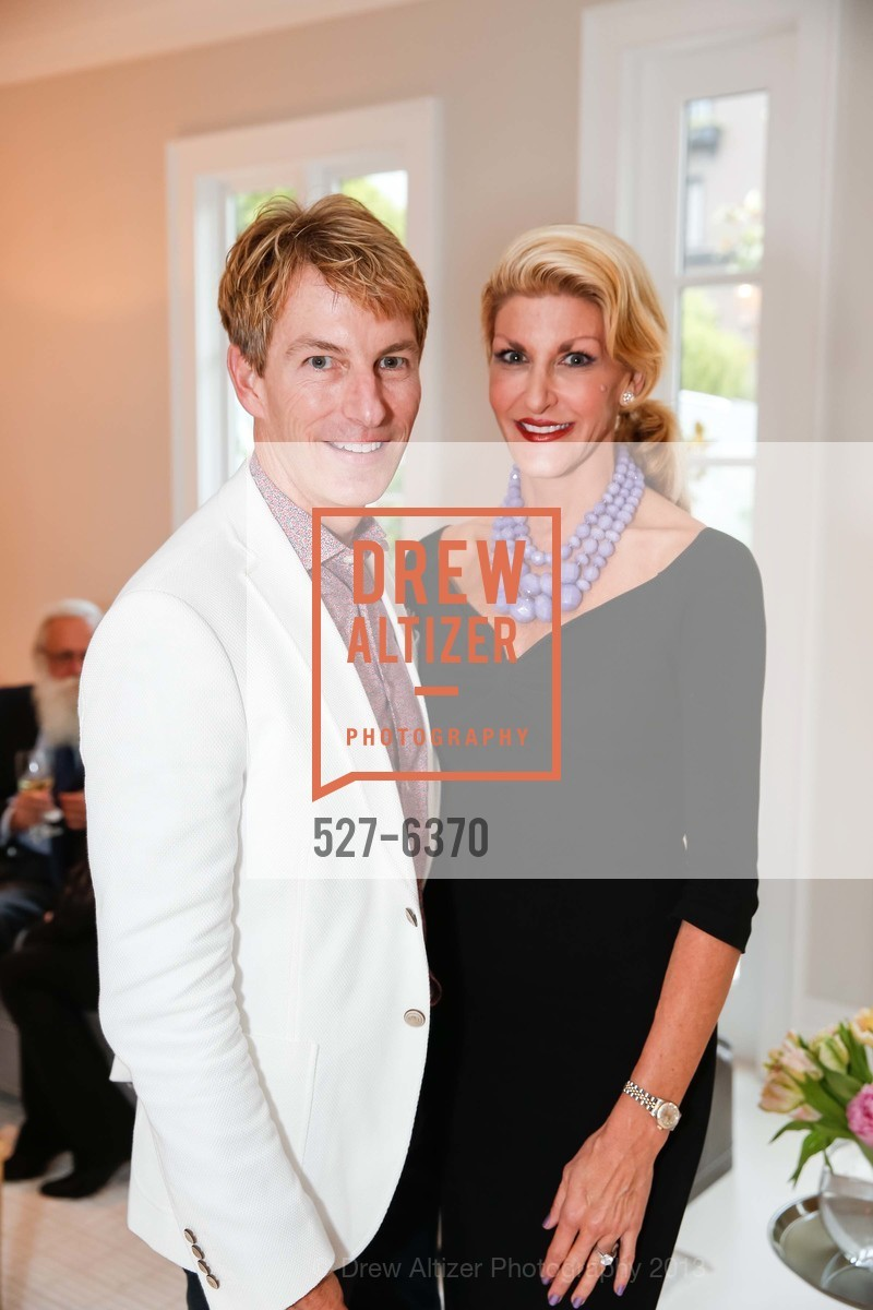 Jack Calhoun, Karen Caldwell, OPERA GALA Patrons Party, US, August 28th, 2013