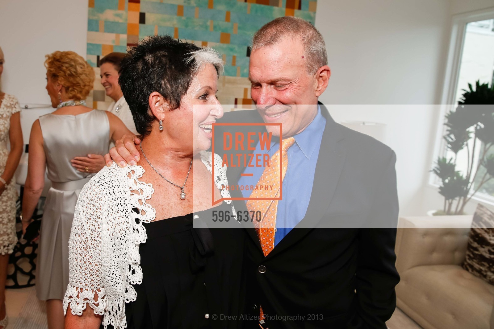 Karen Kubin, David Gockley, OPERA GALA Patrons Party, US, August 28th, 2013