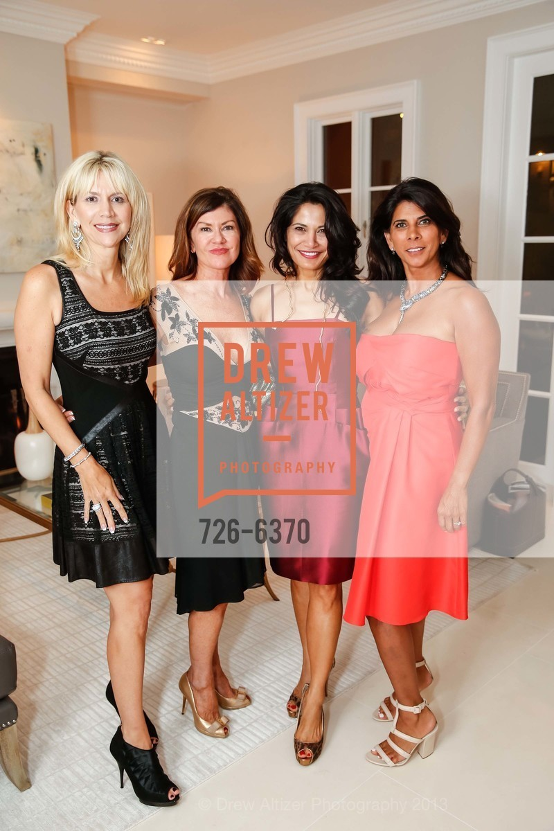 Kimberlee Sharp, Dianne Yancey, Mai Shiver, Sujata Pherwani, OPERA GALA Patrons Party, US, August 28th, 2013