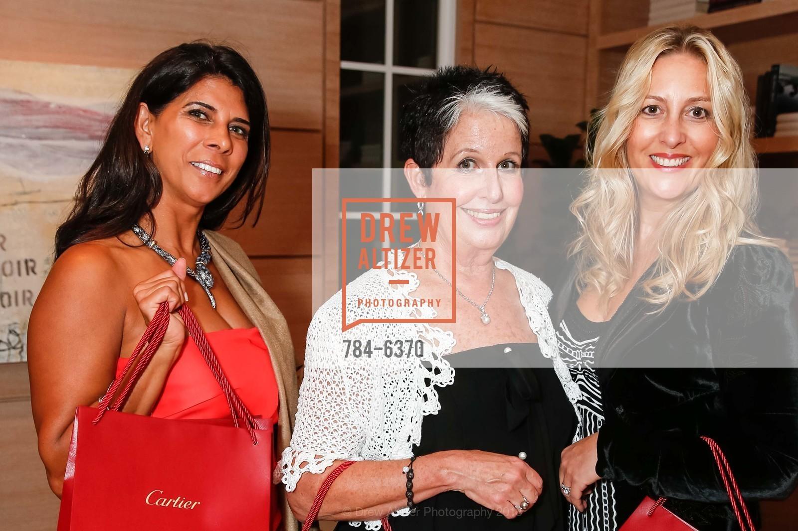 Sujata Pherwani, Karen Kubin, Virginia Ziegler, Photo #784-6370