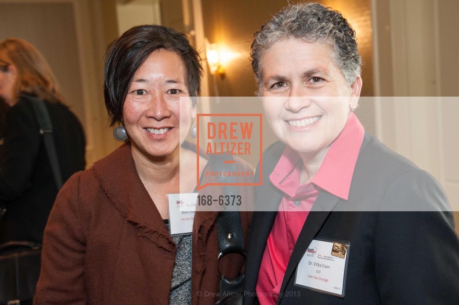 Myra Chow, Vitka Eisen, HEALTH RIGHT 360:  Be the Change 2013, US, November 8th, 2013