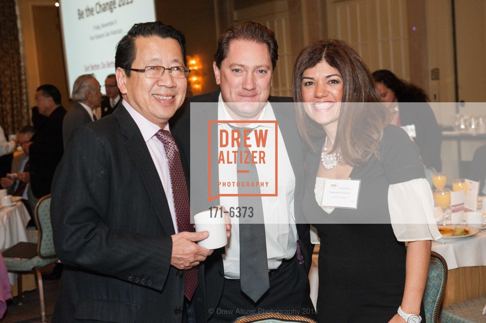Ben Fong-Torres, Liam Mayclem, Shabnam Farneneh, HEALTH RIGHT 360:  Be the Change 2013, US, November 8th, 2013
