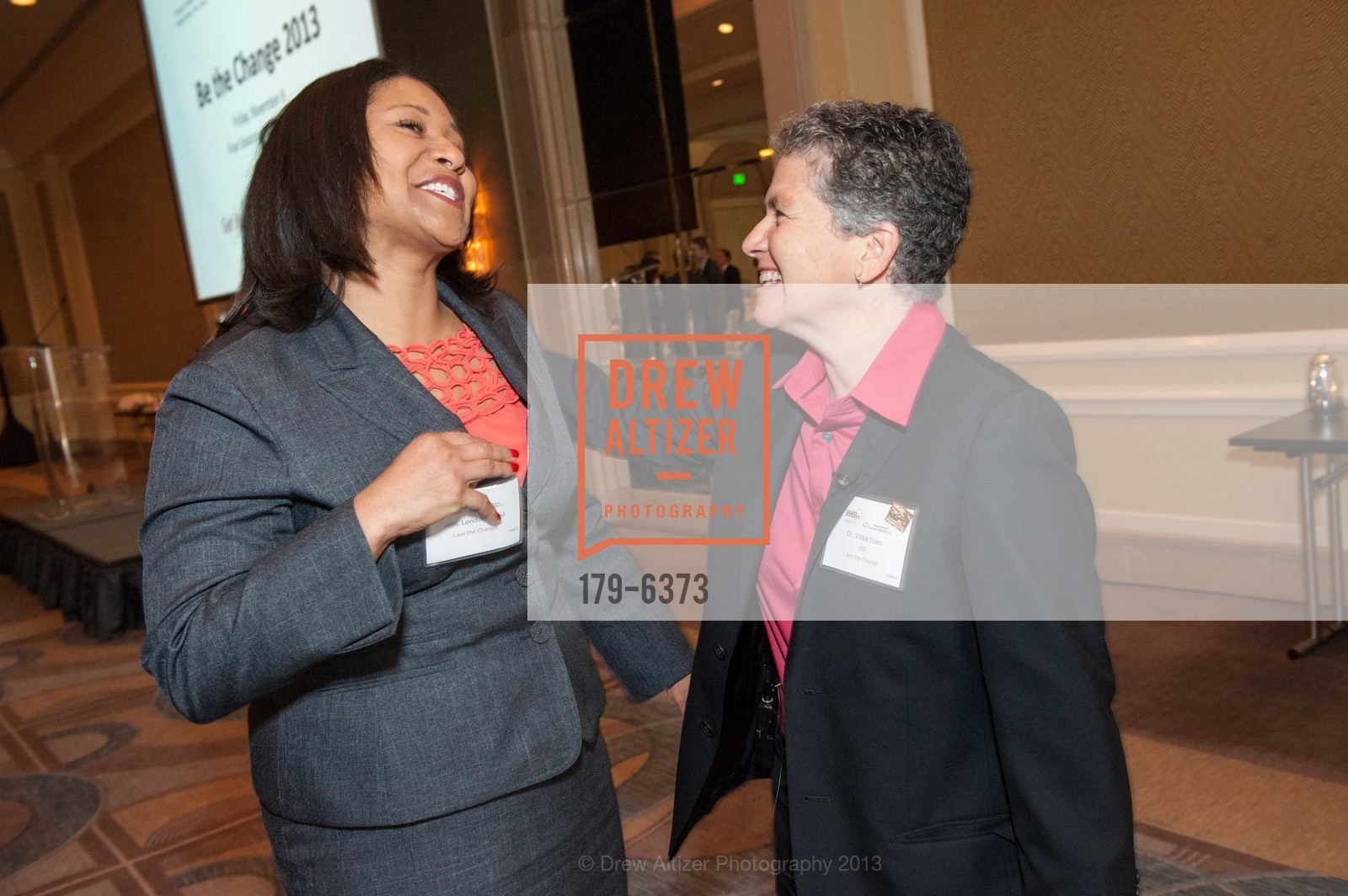 London Breed, Vitka Eisen, HEALTH RIGHT 360:  Be the Change 2013, US, November 8th, 2013