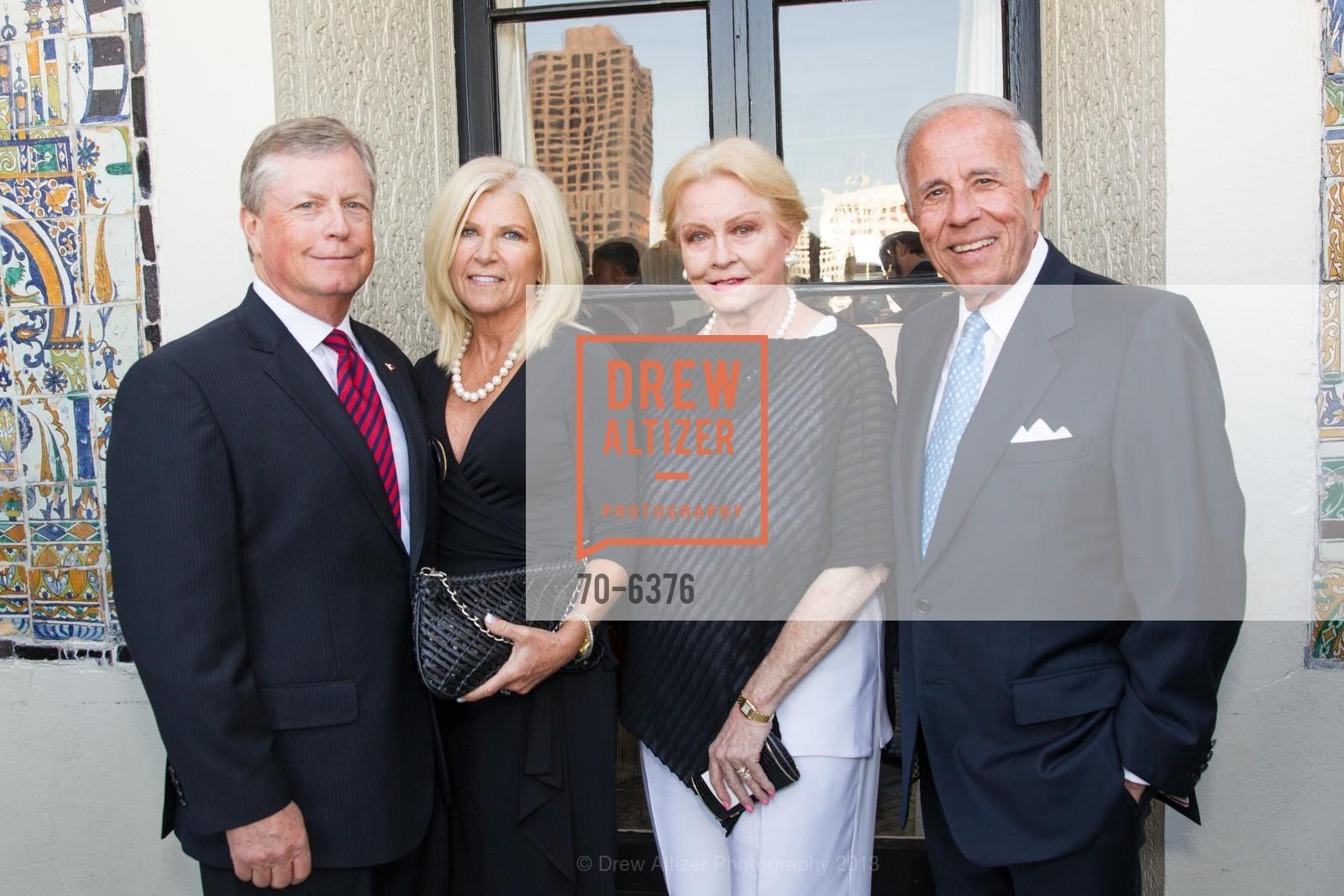 Scott Trommer, Melissa Trommer, Ginnie Koulos, Leo Koulos, COAST GUARD FOUNDATION Presents Pacific Awards Dinner, US, April 25th, 2013