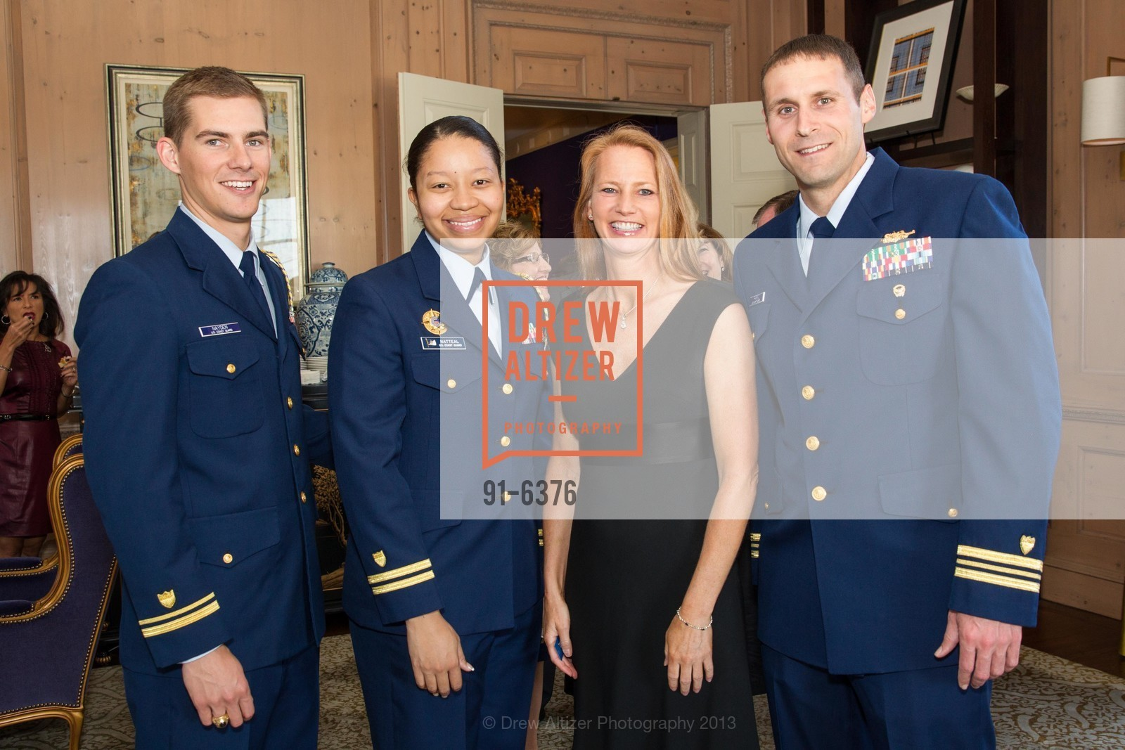 Roger Nayden, Nikea Natteal, Judith Roos, Andrew Passic, COAST GUARD FOUNDATION Presents Pacific Awards Dinner, US, April 25th, 2013
