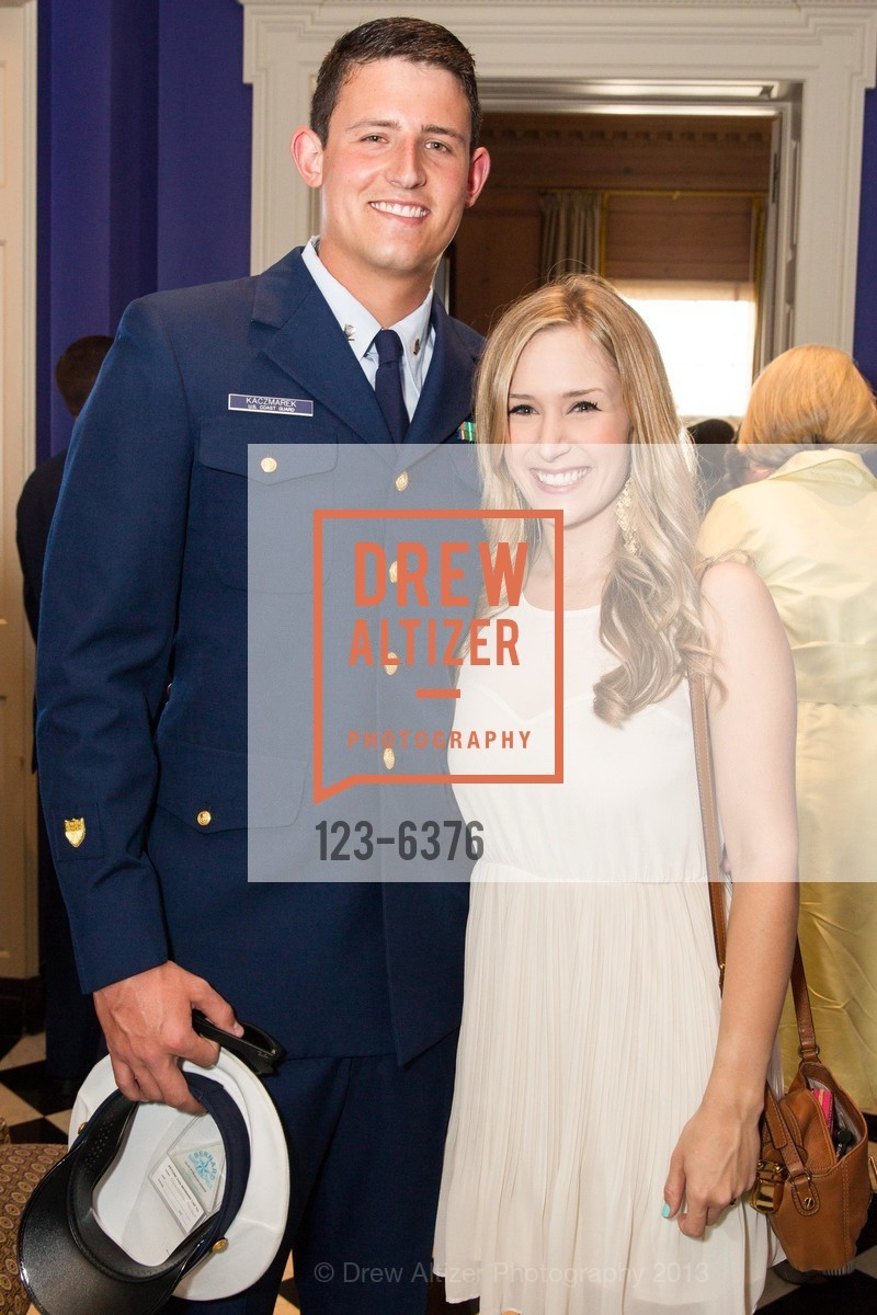Max Kaczmarek, Brooke Klescewski, COAST GUARD FOUNDATION Presents Pacific Awards Dinner, US, April 25th, 2013