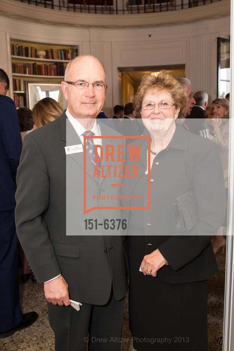 Jim Ferguson, Molly Ferguson, COAST GUARD FOUNDATION Presents Pacific Awards Dinner, US, April 25th, 2013