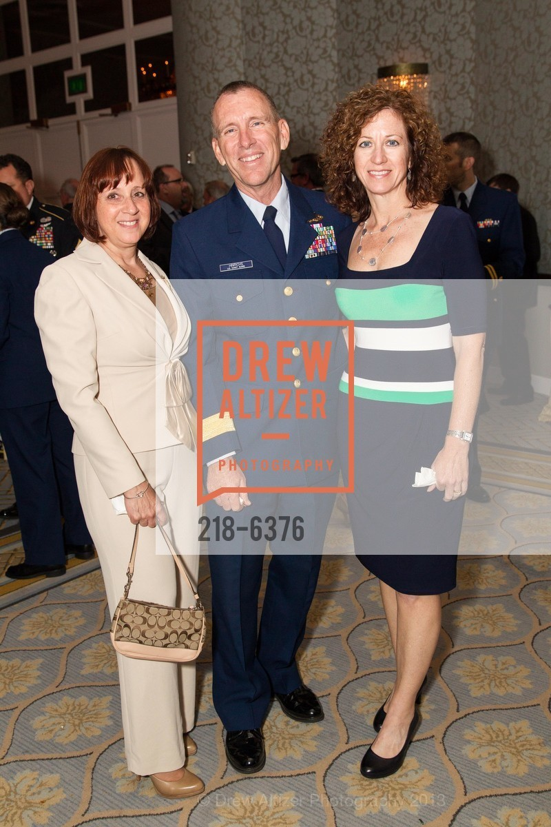Nancy Bell, Kurt Hinrichs, Amy Hinrichs, COAST GUARD FOUNDATION Presents Pacific Awards Dinner, US, April 25th, 2013