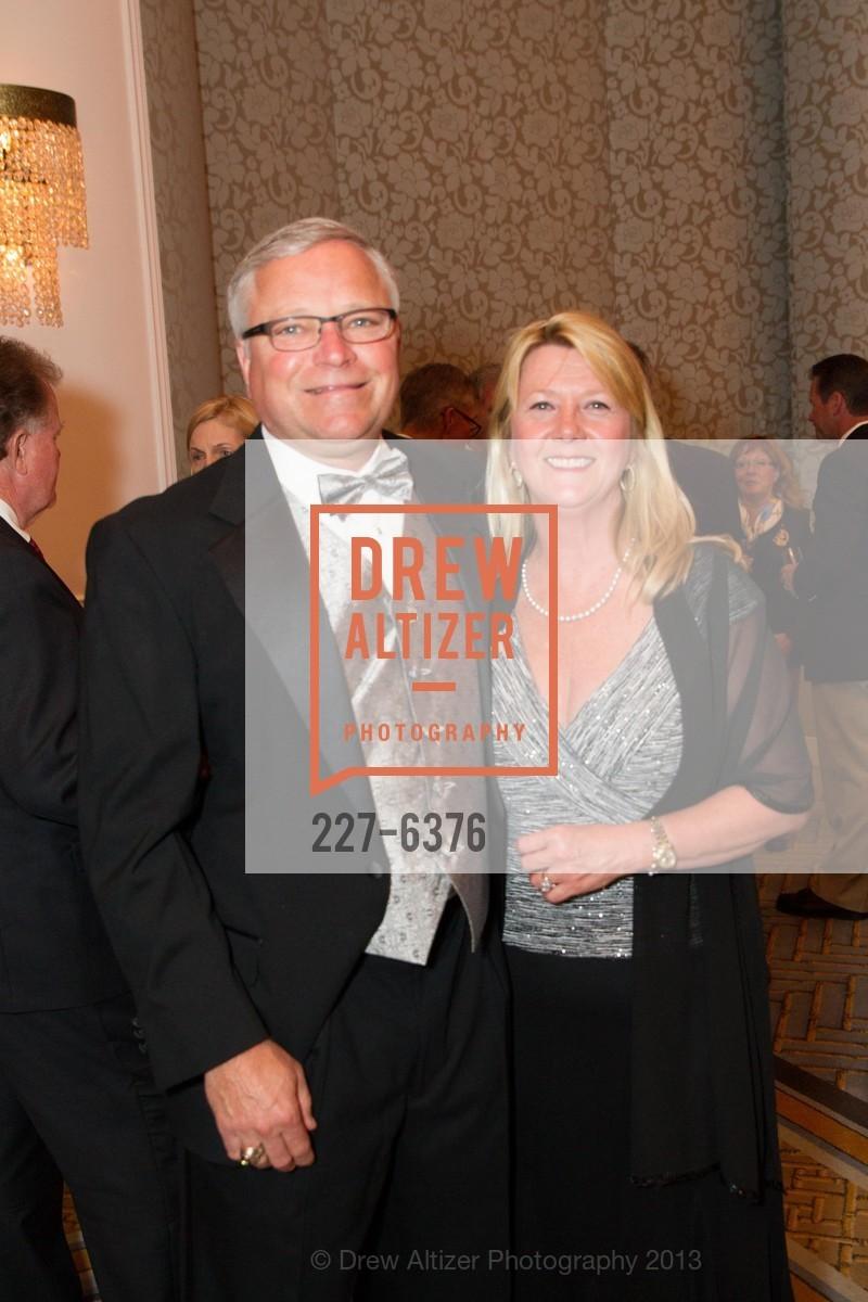 Roger Franz, Donna Franz, COAST GUARD FOUNDATION Presents Pacific Awards Dinner, US, April 25th, 2013
