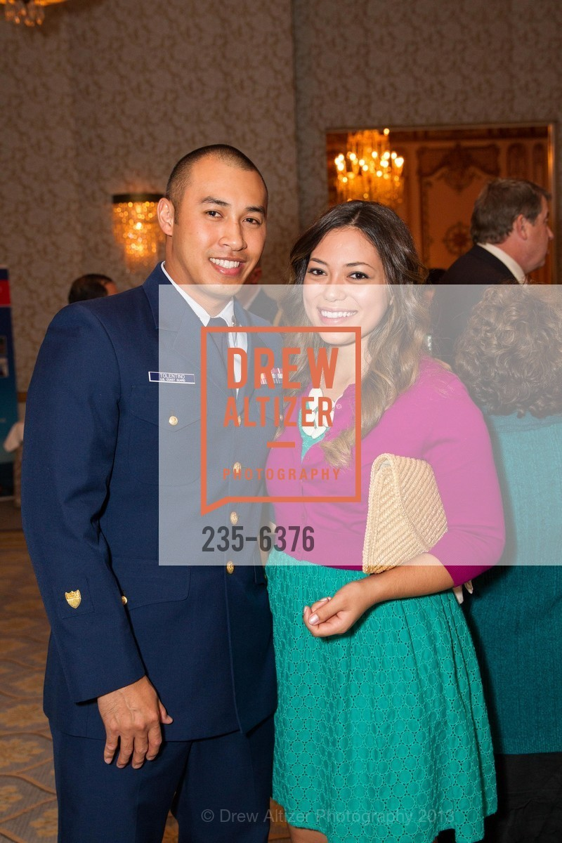 Ryan Tolentino, Marina Tolentino, COAST GUARD FOUNDATION Presents Pacific Awards Dinner, US, April 25th, 2013