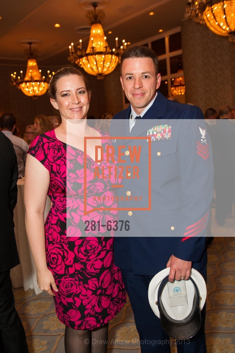 Kristie Hall, Scott Hall, COAST GUARD FOUNDATION Presents Pacific Awards Dinner, US, April 25th, 2013