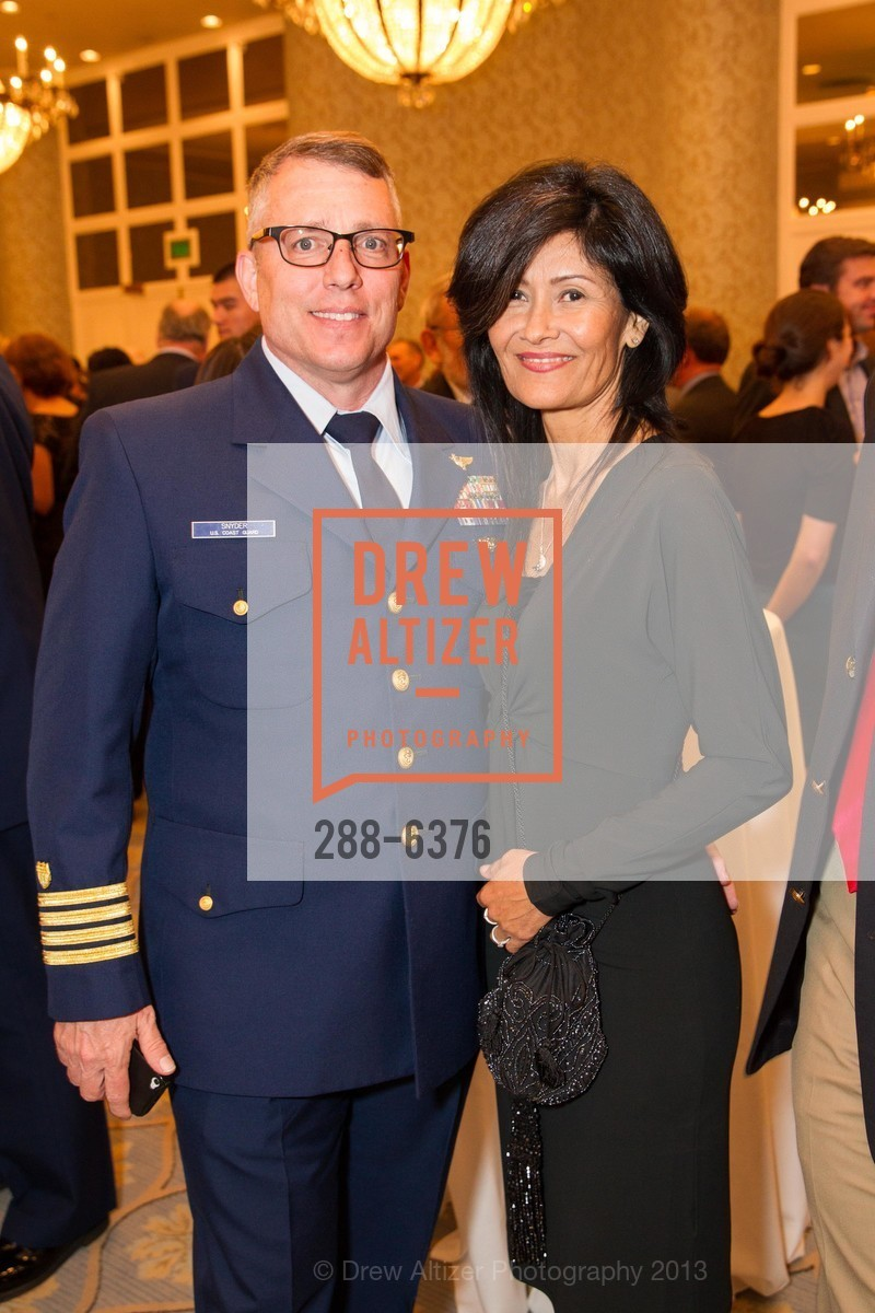 Art Snyder, Tish Snyder, COAST GUARD FOUNDATION Presents Pacific Awards Dinner, US, April 25th, 2013