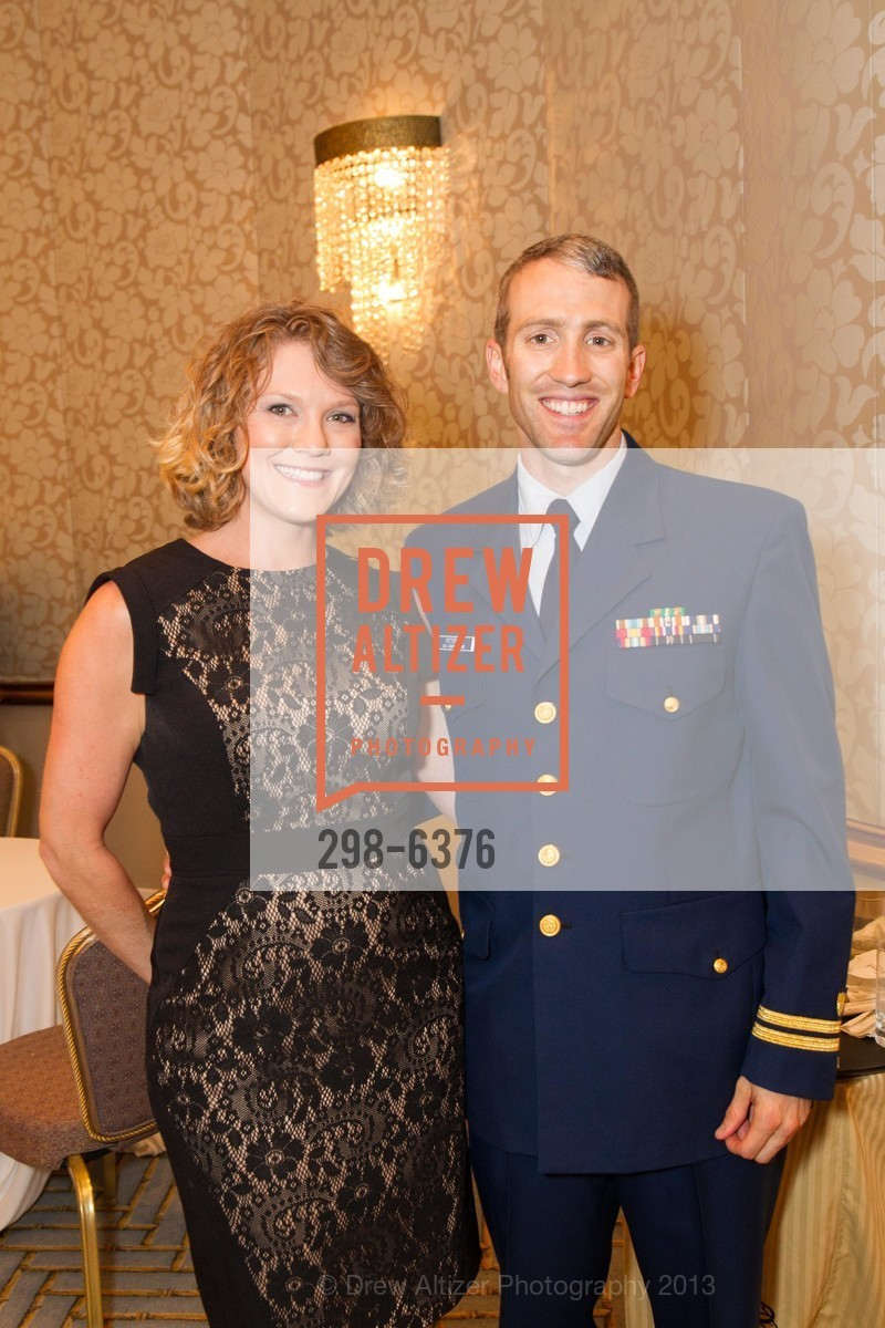 Sarah Petersen, Luke Petersen, COAST GUARD FOUNDATION Presents Pacific Awards Dinner, US, April 25th, 2013
