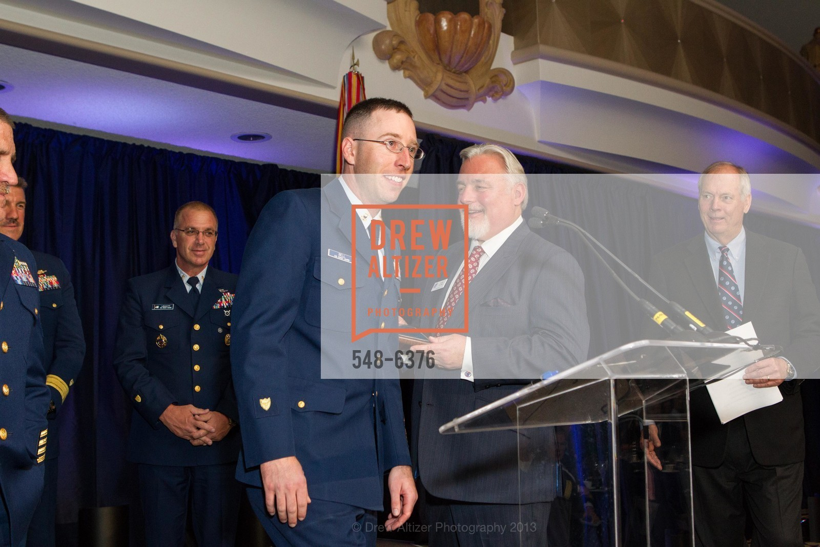Justin Bell, Bob Flynn, COAST GUARD FOUNDATION Presents Pacific Awards Dinner, US, April 25th, 2013