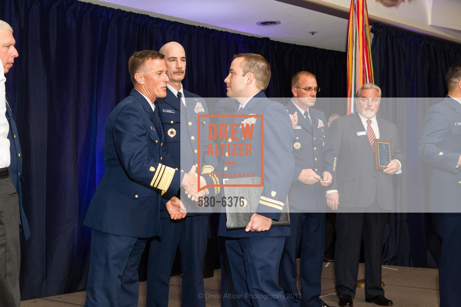 Thomas Ostebo, Stewart Sibert, COAST GUARD FOUNDATION Presents Pacific Awards Dinner, US, April 25th, 2013