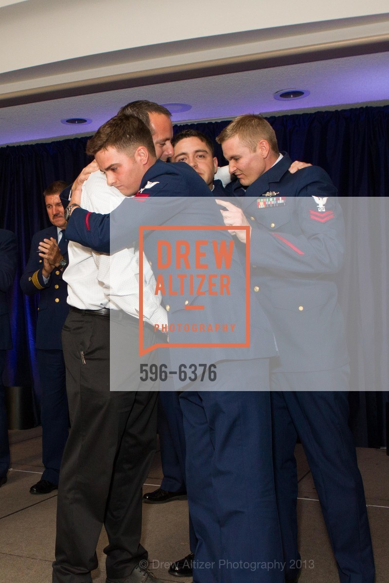 Sean Kuipers, Jonathan D'Arcy, Michael Walker, Brandon Langdon, COAST GUARD FOUNDATION Presents Pacific Awards Dinner, US, April 25th, 2013