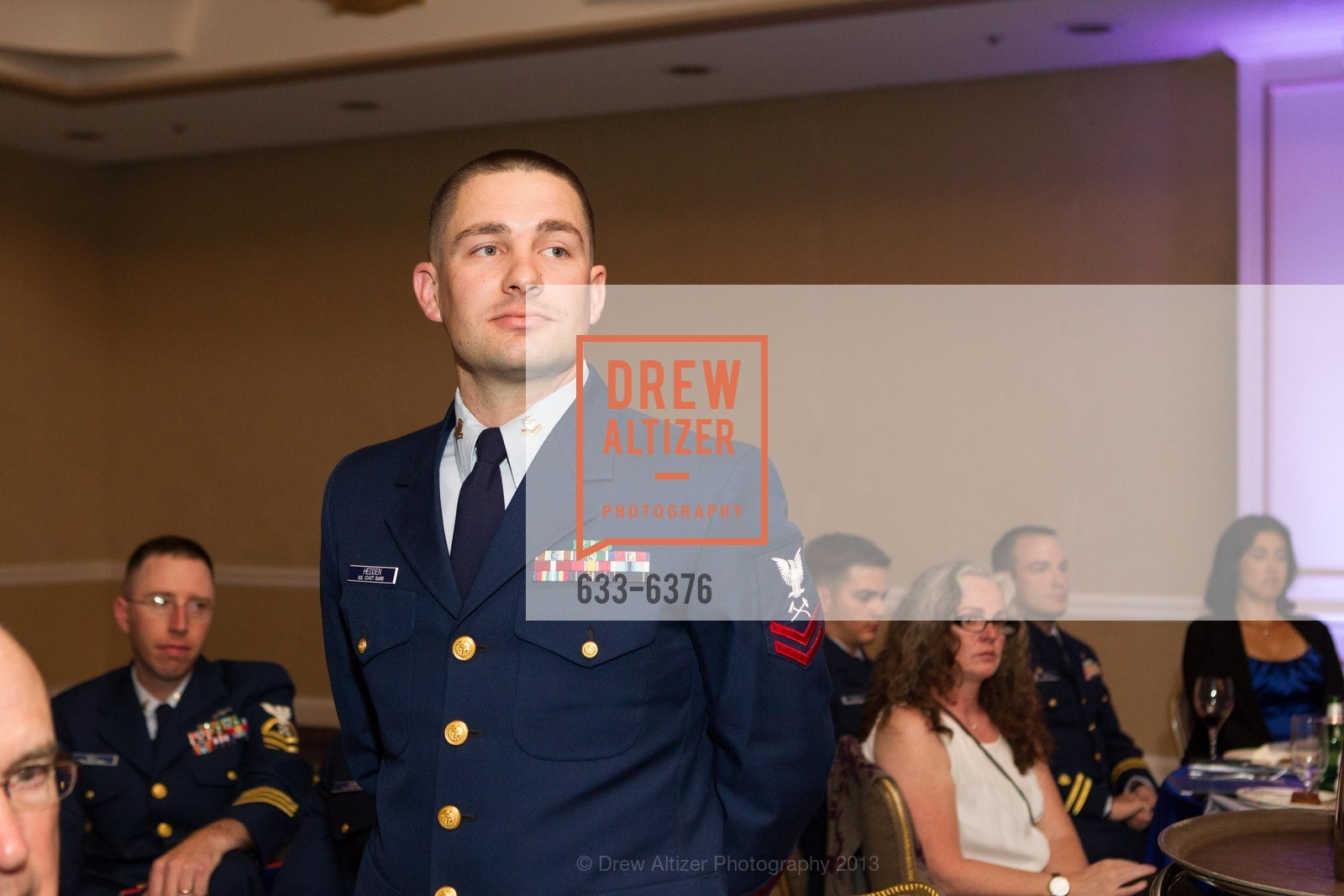 Joshua Hedden, COAST GUARD FOUNDATION Presents Pacific Awards Dinner, US, April 25th, 2013