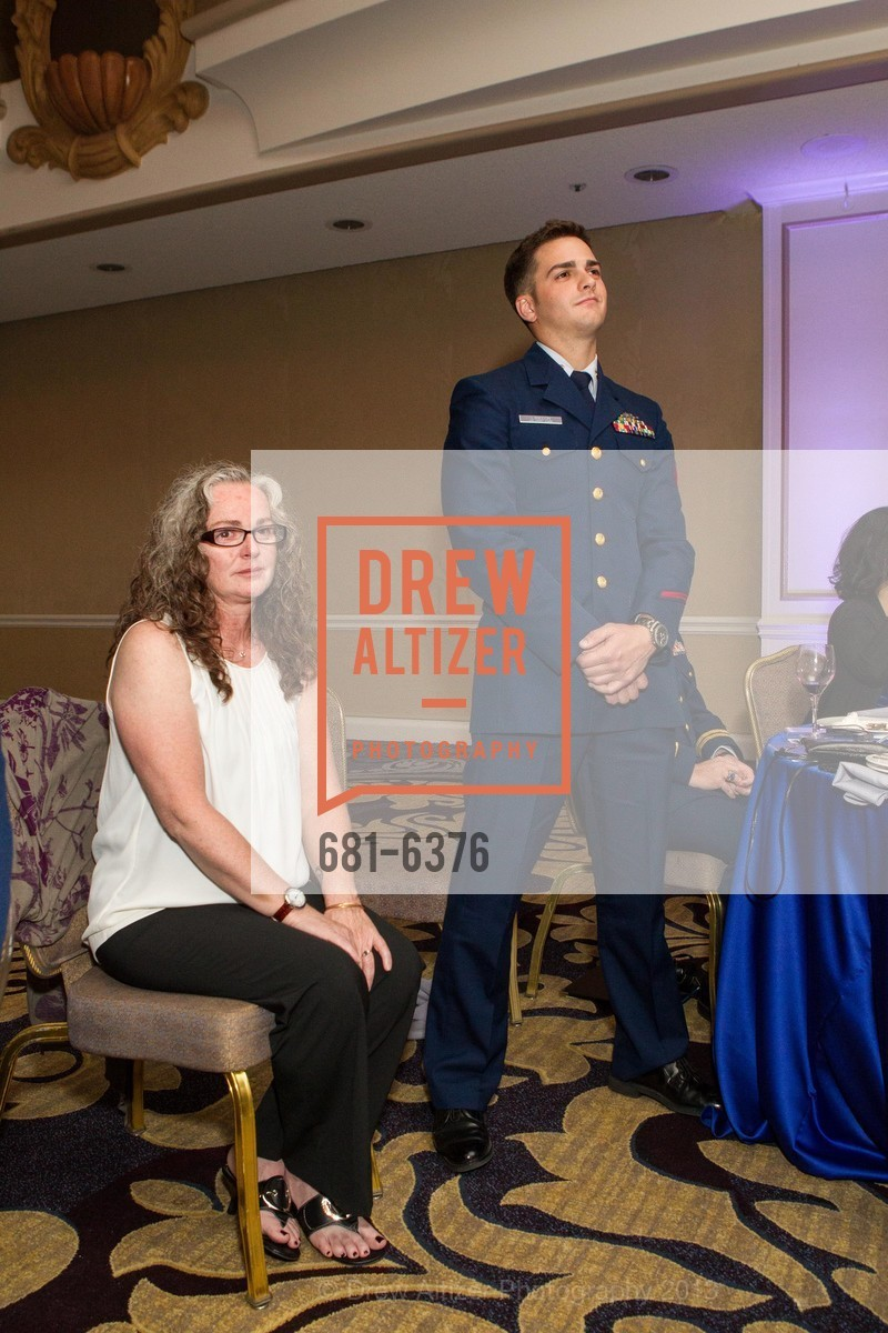 Julie Barry, Brandon Langdon, COAST GUARD FOUNDATION Presents Pacific Awards Dinner, US, April 25th, 2013