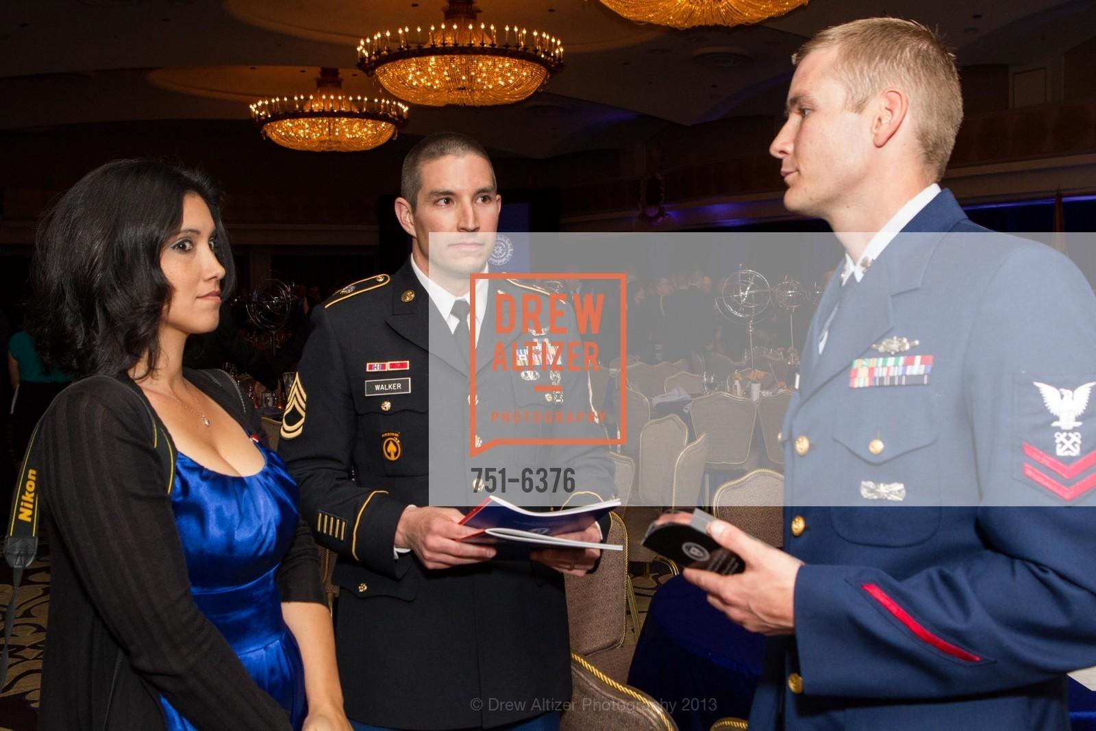 Ivi D'Arcy, Russ Walker, Michael Walker, COAST GUARD FOUNDATION Presents Pacific Awards Dinner, US, April 25th, 2013