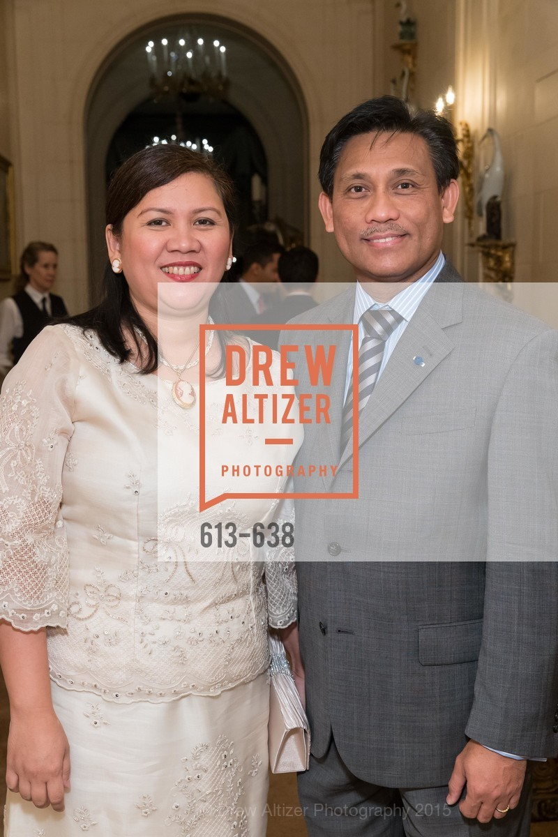 Mariza Bensurto, Henry Bensurto, San Francisco Mayor's Office of Protocol Christmas Party, Private Residence, December 9th, 2015,Drew Altizer, Drew Altizer Photography, full-service agency, private events, San Francisco photographer, photographer california