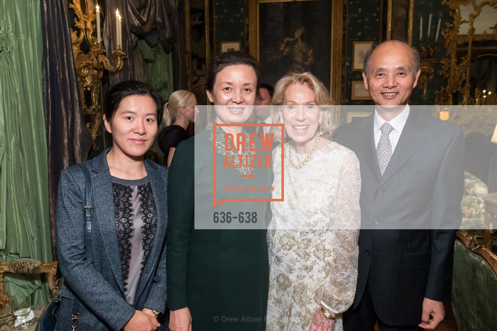 Su Han, Qiao Li, Charlotte Shultz, Luolin Quan, San Francisco Mayor's Office of Protocol Christmas Party, Private Residence, December 9th, 2015,Drew Altizer, Drew Altizer Photography, full-service agency, private events, San Francisco photographer, photographer california
