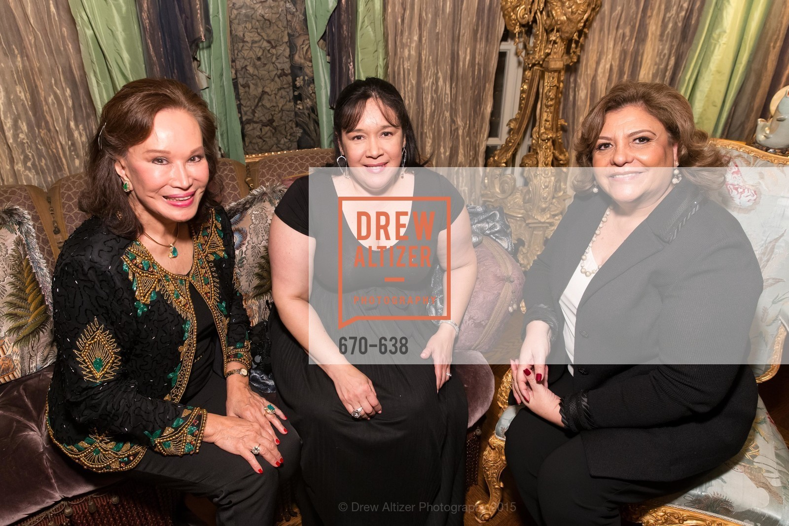 Martha Hertelendy, Tiesay Lugo, Candy Chavez, San Francisco Mayor's Office of Protocol Christmas Party, Private Residence, December 9th, 2015,Drew Altizer, Drew Altizer Photography, full-service agency, private events, San Francisco photographer, photographer california